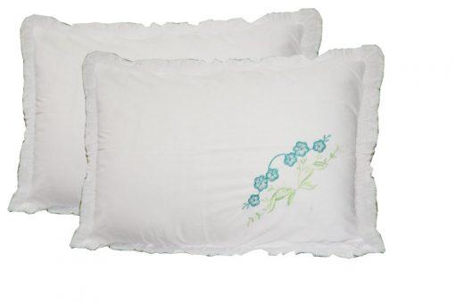 Pillow Cases - Beautiful Pillowcase 100% Cotton - Set of 2 - 67 X 45 Cms -  Avioni