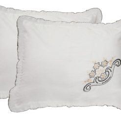 Pillow Cases – Beautiful Pillow Cover 100% Cotton – Set of 2  – 70 X 47 Cms – Avioni