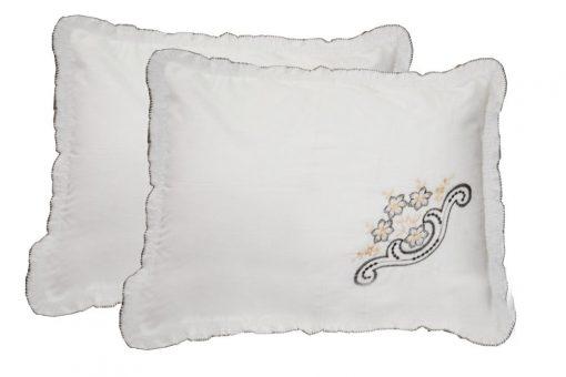 Pillow Cases - Beautiful Pillow Cover 100% Cotton - Set of 2  - 70 X 47 Cms - Avioni