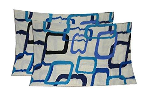 Pillow Cases - 100% Cotton - Set of 2 - 17 X27 Inches - Avioni