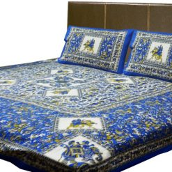 Printed  Jaipuri Double Bedsheet 100% Cotton By Avioni