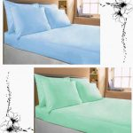 Double Bedsheet Plain 100% Mercerised Cotton (Set of 2)