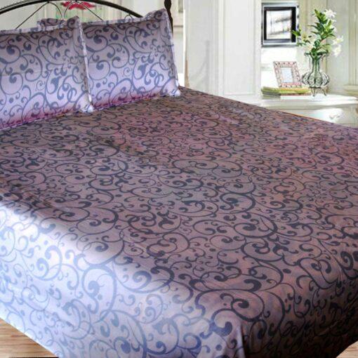 Double Bed Sheet 100% Cotton, 210 Tc Very Fine Cotton By Avioni