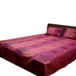 Multicolor Cotton Double Bedsheet