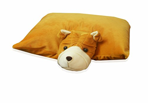 Kids Pillow With Soft Animal Face