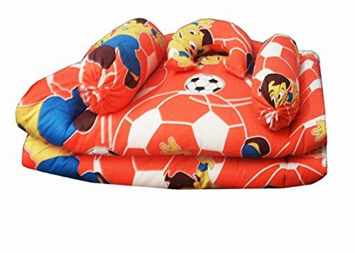 Kids Cotton Bedding Set (Set of 5) (0 -12 Months) Multicolor by Avioni
