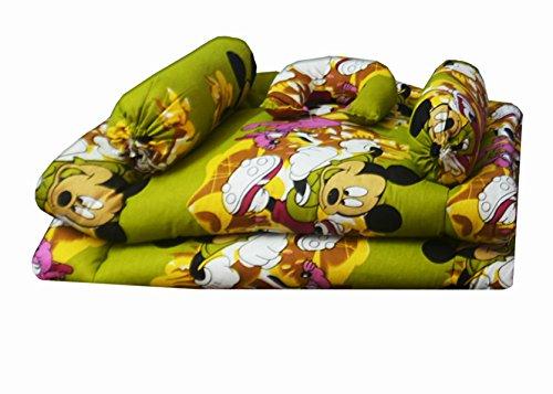 Kids Cotton Bedding Set Multicolor (Set of 5) (0 -12 Months) by Avioni