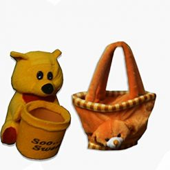 Kids Combos of Soft toy super soft bag and pen holder by Avioni