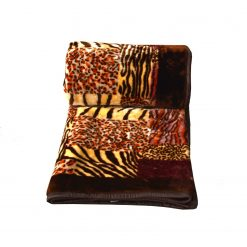 Mink Blankets Tiger Print very soft and cozy for Double Bed by Avioni