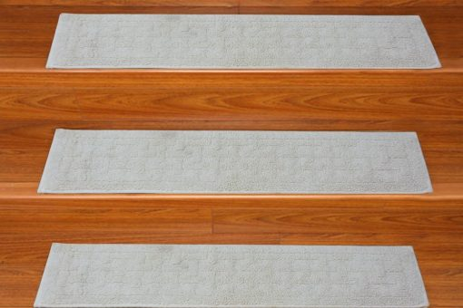 Stair Runners -  High Quality - Anti Slip With Rubber Backing -  Set of 6  - 35 x9 inches - Avioni