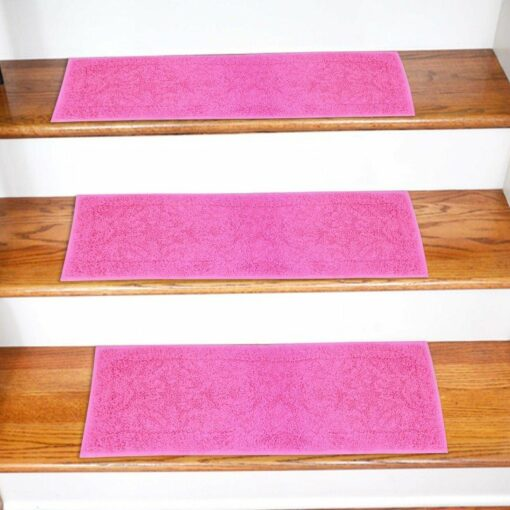 Carpet for Stairs -  Set of 6 Runners -  Contemporary - Durable - Anti Slip With Rubber Backing - 30 x9 inches - Big Discount - Avioni