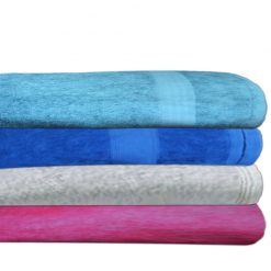 Bath Towels Set of 4 100% Cotton by Avioni