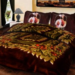 Double Bed Mink Blankets Multicolor Design By Avioni