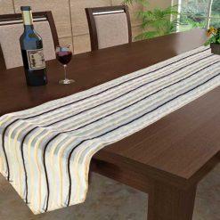Avioni Premium Chenille Horizon Collection Table Runner Export Quality-Set of 1
