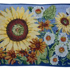 Table Mats (Set Of Six) On Jacquard Fabric