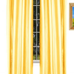 Avioni Home Fancy  Eyelet Curtain Cream Crush Material (set of two)