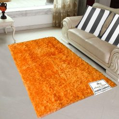 Avioni Handloom Rugs Carpets For Living Room In Fur Reversible Multicolor -3 Feet X 5 Feet
