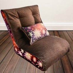 BIGMO-BEAN BAG XXL With Beans with BACK CUSHION