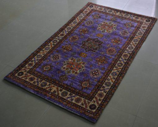 Avioni Carpet – Faux Silk- Neo Persian Collection Multicolour Art- 3×5 Feet