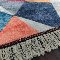 Avioni Neo Modern 3D Geogmatric Design Carpets for Home Silk – 122x 182 cm (4X6 Feet)