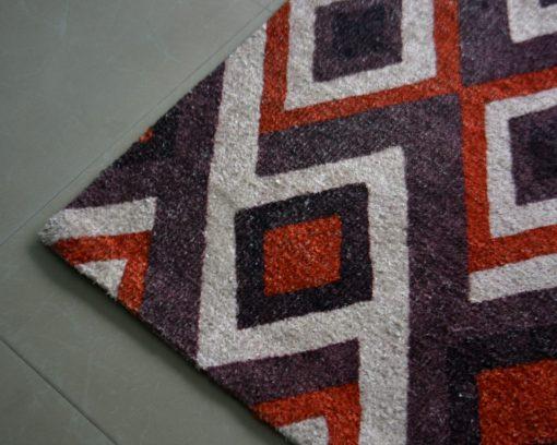 Avioni Carpet – Faux Silk- Neo Modern Collection Geomatric Design- 3×5 Feet