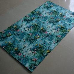 Avioni Carpet – Faux Silk- Neo Modern Collection 3D sea- 3×5 Feet