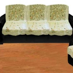 Loomkart Five Seater Sofa Covers in Net