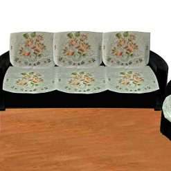 Loomkart Five Seater Sofa Covers in Fine Net (set of 10 Pieces)