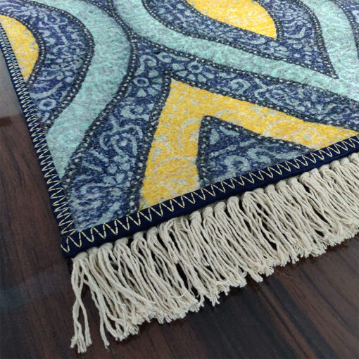 Avioni Carpets for Home Silk- Neo Modern Collection Divine Eye- 122×182 cm (4×6 Feet)