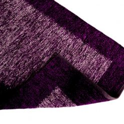Avioni Rugs   Purple  Shades  For Living Room Actual Feather Touch- Softness -Handloom Made Reversible Light Weight   -3 Feet X 5 Feet
