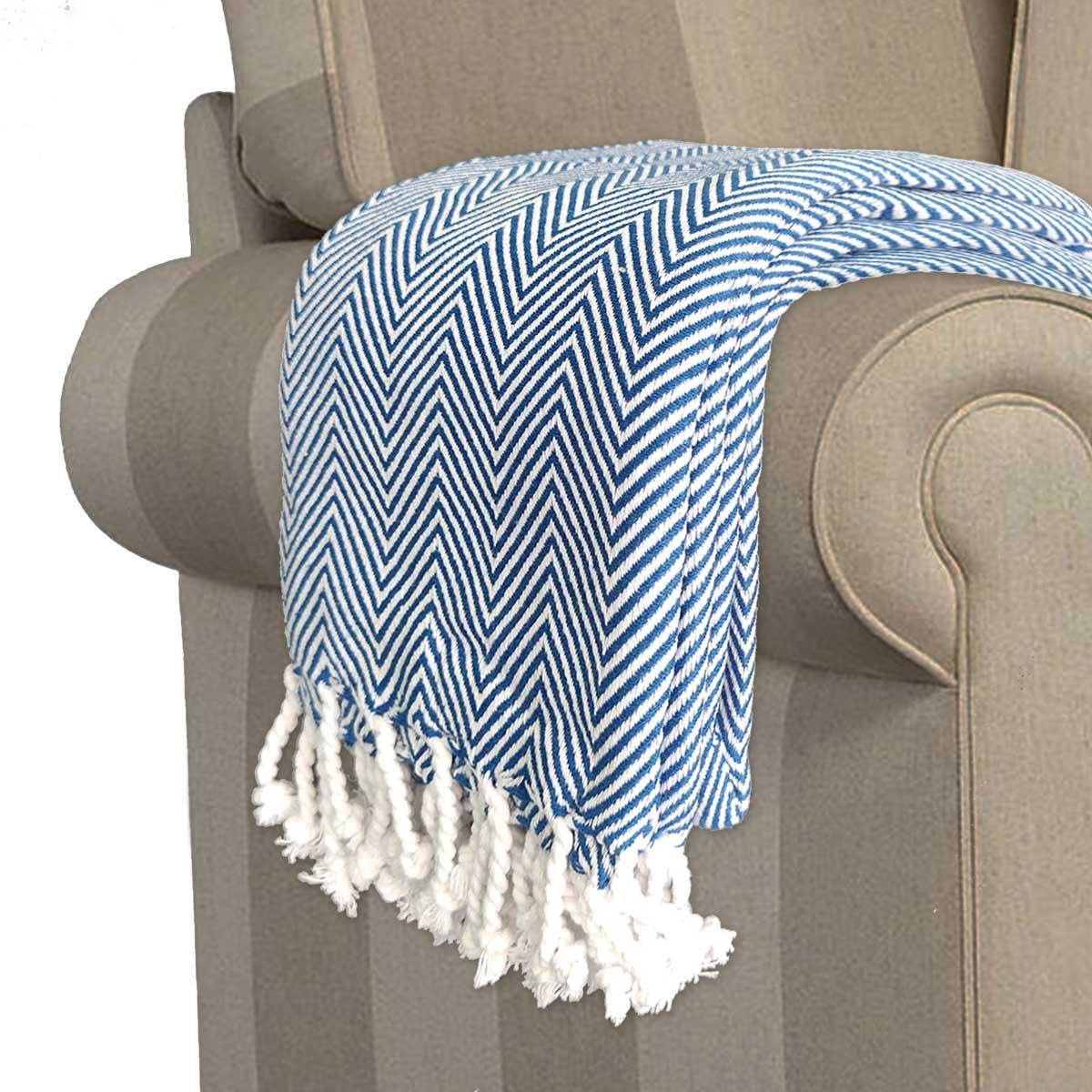 Avioni Premium 100 Cotton Sofa Throws Blankets