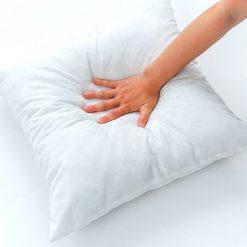 Avioni Cushion Insert – High Quality Fiber Filler  – 18X18 Inch – White -Set of 5 Cushion Fillers