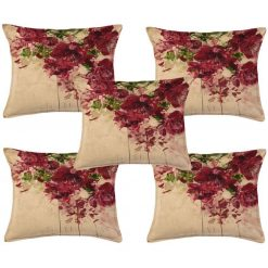 3D Cushion Covers Spring in Living Room – Best Price 16 X 16 Inch (set of 5) by Avioni