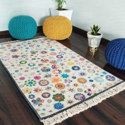 Avioni Carpets for Living Room – Kids Collection Garden in Room- 122 cm X 182 cm (4×6 Feet)