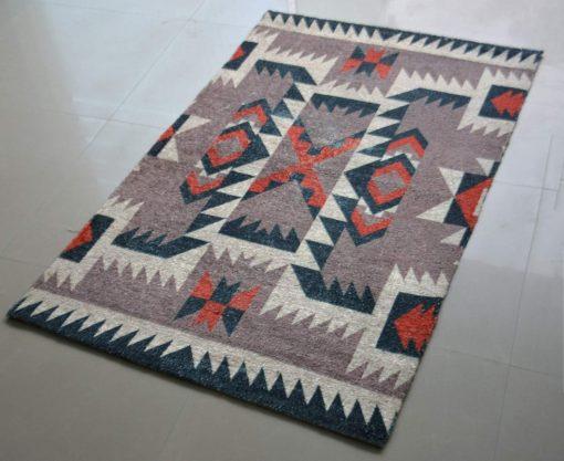 Avioni Carpets for Kids Room Silk Neo Collection- Ethnic Modern Design- 92 cm X 152 cm (3X5 Feet)