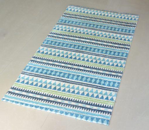 Avioni Carpets for Living Room – Neo Modern Collection Blue Multicolour Carpet/Rug – 92 x 152 cm (3×5 Feet)