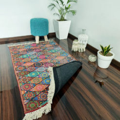 Avioni Carpet – Neo Modern Collection Persian Ethnic Multicolour – 122x 182 cm (4×6 Feet)