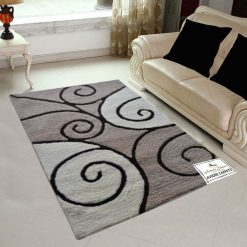 AVIONI Polyester Blend Moroccan Lattice Carpets ( 92×152 cm)
