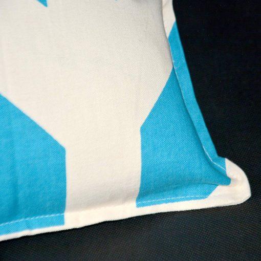 AVIONI 100% Cotton Pillow Covers – Set of 2 (Medium Size) Blue Stripes