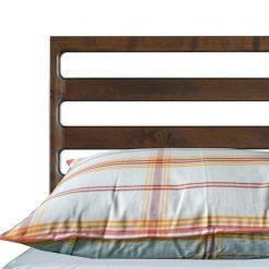 AVIONI 100% Cotton Pillow Covers – Set of 2 (Medium Size) Orange Lines