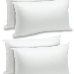AVIONI Microfiber Filled Premium Pillow Inserts – Set of 4