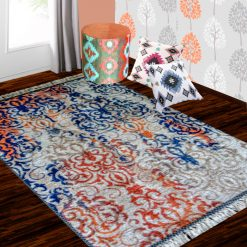 Silk Carpet Distressed  – Premium Ethnic Living Room Rug – 3×5 Feet  (90 x 150 cms)-Avioni