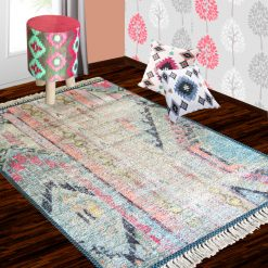 Silk Carpet Distressed  – Silk Premium Abstract Living Room Rug -Avioni