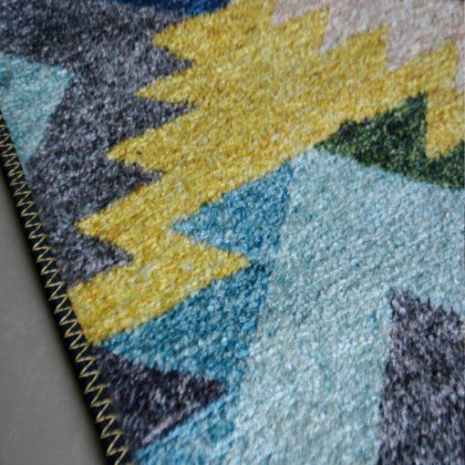Silk Carpet Geometric Design Premium Living Room Rug -Avioni