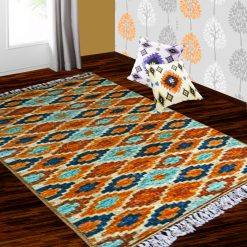Silk Carpet Ethnic Premium Living Room Rug Mustard -Avioni
