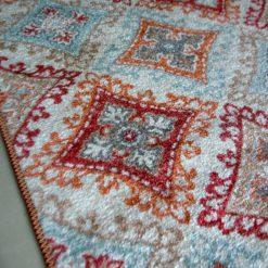 Silk Carpet Ethnic Premium Living Room Rug Red-Avioni