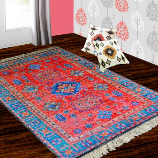 Silk Carpet Ethnic Premium Living Room Rug Pink -Avioni