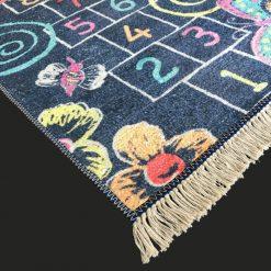 Silk Carpet Kids Collection  – Counting On Kids Room Rug – 4×6 Feet  (120 x 180 cms)-Avioni