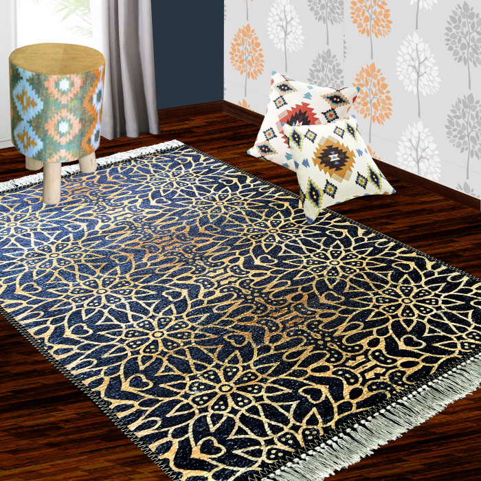 Modern Design Collection Blue With Gold
