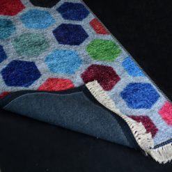 Silk Carpet Modern Design Collection Multicolour Abstract  – Living Room Rug – 3×5 Feet  (90 x 150 cms)-Avioni